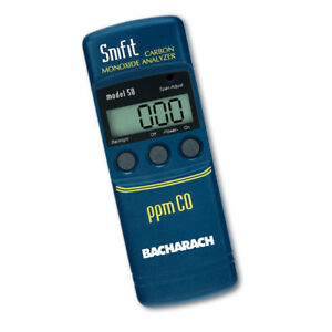 Bacharach 0019 7060 Snifit 50 Carbon Monoxide Analyzer With Digital Display