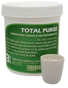 New Total Purge Kit Carbon free Furnace Porcelain Oven Decontaminator Denta