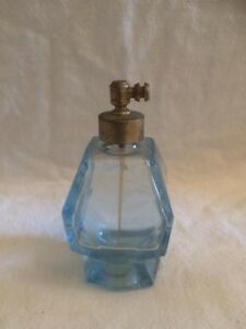 Vintage Leo Mann Blue Perfume Atomizer Made In West Germany
