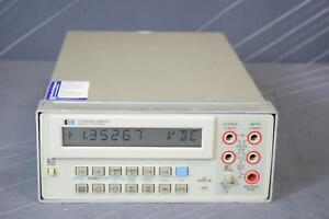 Keysight agilent 3478a 5 5 Digit Dmm With Hp ib Interface