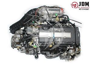 88 91 Honda Civic 1 6l Vtec Engine Automatic Transmission Jdm B16a