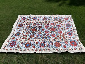 Uzbek Handmade Suzani New Shipped From Usa