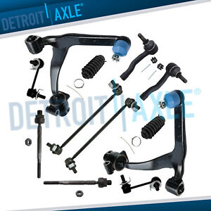 For 2003 2008 Infiniti Fx35 Fx45 Front Lower Control Arms Tierods Sway Bars