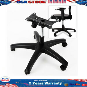 Office Chair Base 28 Inch Swivel Chair Base 350 Pounds Replacement Wheel Caster