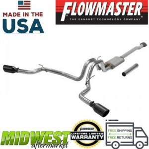 Flowmaster Fx Cat Back Exhaust System Fits 2015 2019 Ford F 150 2 7l 3 5l 5 0l