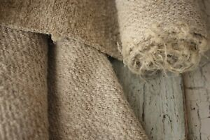 Hemp Fabric Antique Linen 2 5yds Pure Hemp 18th Century European Homespun Fabric