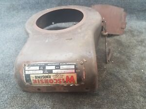 Engine Blower Housing From Wisconsin Air Cooled Engine Model Tra 10d