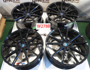22 Giovanna Le Mans Concave Bentley Continental Gt Flying Spur Wheels W029d