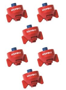 5 Of Hypro Ultra lo Drift Red Polymer Spray Tips 120 Rated 0 40 Gpm 40 Psi