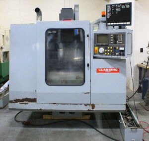 23 62 X 15 75 Y Clausing kondia B 500 Vertical Machining Center Dynapath Cont