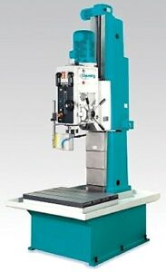 37 4 Swg 5 5hp Spdl Clausing Bp50l Drill Press