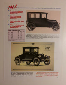 1922 Chevy Article Must See
