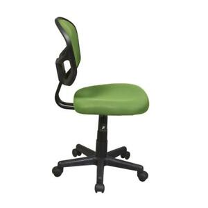 Ospdesigns Office Chair Professional Style Heavy Duty Nylon Base Home Green