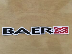 Baer Sticker Decal Off Road Racing Tool Box 10