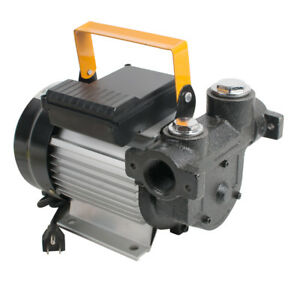 110v 15 75gpm Safty Use Electric Diesel Oil fuel Transfer Extractor Pump Motor