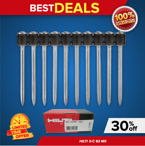 Hilti Concrete Nails X c 62 Mx Brand New 100 P Box For Dx 460 Mx Fast Ship