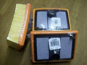Stihl Cutoff Saw Air Filter Set Pack Of 3 Fits Ts700 And Ts800 Ts700 Air Filter