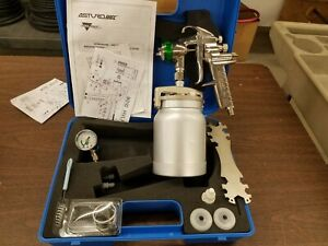 9010 Hvlp Paint Spray Gun 1 7mm Camlock New Demo