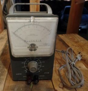 Heathkit Av 3 Audio Vtvm Test Meter