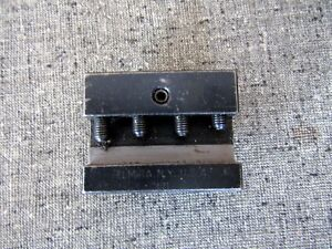Hardinge L21 Quick Change Tool Holder Modified To Suite 5 8 High Tools