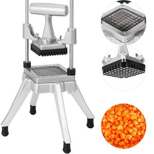 3 8 Commercial Vegetable Fruit Dicer Food Cutter Bonus Blade Tomato Slicer