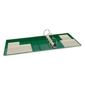 Heavy duty Binder With One Touch Ezd Rings 4 Capacity Green X 2