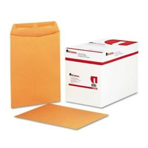 Catalog Envelope Center Seam 9 X 12 Light Brown 250 box 3 Pack