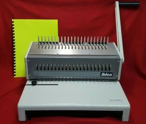 Ibico Kombo Heavy Duty Plastic Comb Punch Binding Machine 294 Combs Homeschool
