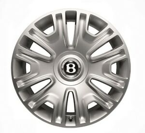 Oem Factory Bentley Continental Flying Spur Classic 19 Inch Wheel Center Cap