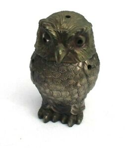 Vintage Metal Retro Incense Owl Burner Hoot Hoot
