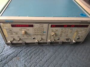 Tektronix Sg 5030 Programmable Leveled Sine Wave cg 5011 Cal Generator tm5006a
