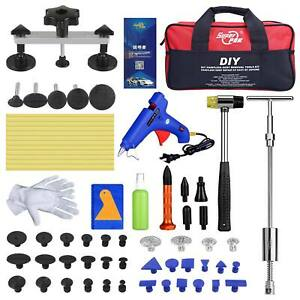 49x Super Pdr Paintless Dent Repair Removal Dent Puller Lifter Slide Hammer Kits