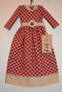 The Ultimate Red Wine Folk Art Doll Wall Decor Dress Grungy Primitive