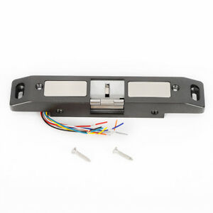Lock Release Electric Strike For Door Entry Access Control Systems 12v 24v Ac Dc