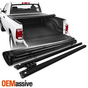Tonneau Cover For 2009 18 Dodge Ram 1500 2010 18 2500 3500 78 Bed Soft Roll Up