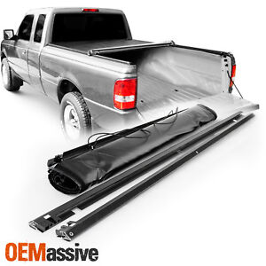Tonneau Cover For 1993 2011 Ford Ranger 6 Ft 72 Inch Bed Flareside Soft Roll Up