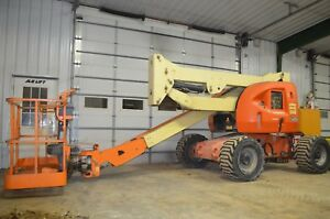 2002 Jlg 450a Articulating Boom Lift Skypower 4wd