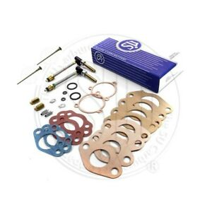 New Genuine Su Carburetor Rebuild Kit Mgb 1963 67 1 1 2 Hs4 W Needles Does Both