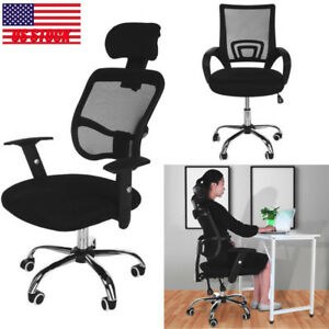 Modern Ergonomic Mesh High Back Executive Computer Desk Task Office Chair New