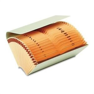 Bankers Check File Folder With Pockets Thumbcut Expanding 9 75 X 5 Manila X2