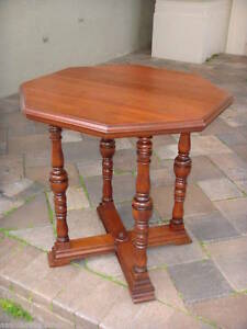 Octagonal Shaped Top Side Table Center Table 0001