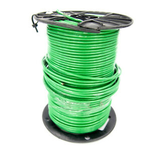 500 Ft Republic Wire Thhn thwn 2 10 Awg Nylon Coated Building Wire Green