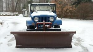 Meyer Snow Plow With Sub Frame And Mounting Hardware
