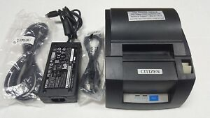 Citizen Ct s310a Point Of Sale Usb Thermal Printer With Ac Adapter Tested