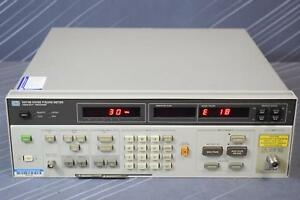 Keysight agilent 8970b Noise Figure Meter 10 Mhz To 1600 Mhz