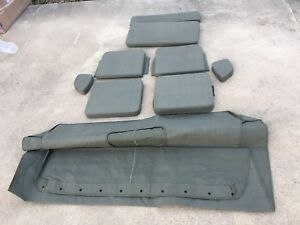 Jeep Willys Ford Mb Gpw Canvas Top And Cushion Set G 503