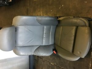 Front Left Sport Bucket Seat Grey Driver Side Leather Bmw E46 325i Sedan