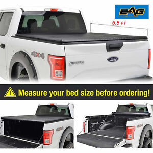 04 17 Ford F150 07 18 Tundra 5 5 Ft Short Bed Lock Roll Up Soft Tonneau Cover