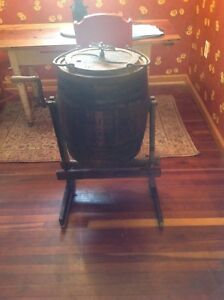 Antique Barrel Butter Churn