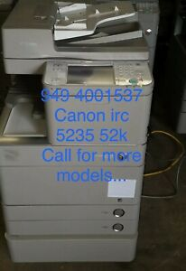 Canon copier color ircadvance 5235a 5235 35ppm print pdf one Pass Scan